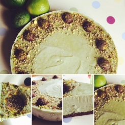 Chocolate and Lime Cake #raw #plantabased #somethingfortheweekend