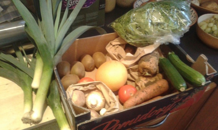 fruit veg box scheme edinburgh